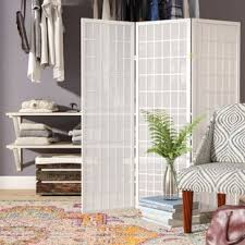 Living room divider furniture Bedroom Privacy Quickview Wayfair Short Room Divider Wayfair