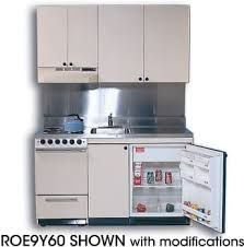acme full feature kitchenettes roe9y60 compact kitchen