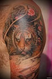 20 карточек в коллекции цветные татуировки для мужчин на плече