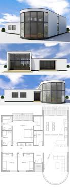 Modern 3 Bedroom House Design 17 Best Ideas About Modern House Plans On Pinterest Modern House
