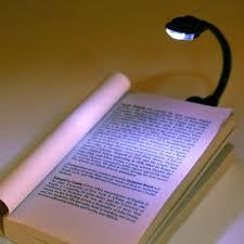 Laptop Reading Light 1pcs Mini Flexible Clip On Bright Book Light Laptop White