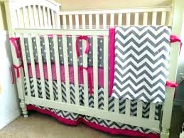 new pink chevron baby bedding sets f8144112 pink and grey chevron baby bedding gray and pink