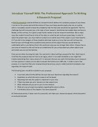 How To Write A Cover Letter Introducing Yourself Letter Of