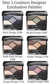 dior 5 couleurs designer eyeshadow palettes 2016