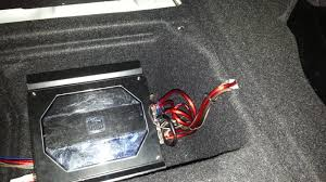 installing a sub stock bmw stereo system wire everything up this is how i wired mine up wires from head unit > crossover > rca input on the amp > sub