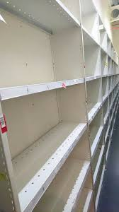 11 bays of 3ft shelving for s storage garage warehouse etc can be cut down ballymena