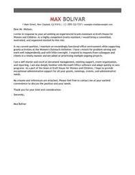 c0e e18d9e7fb56c5bebc50e66b1 cover letter example grant money