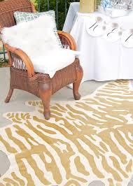 diy faux zebra rug decor fix within animal design 13