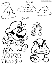 Goomba Coloring Pages - FunyColoring