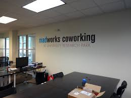 advertising office interior design. Businessoffice Interior Signage Madison Sign Lettering Vinyl Wall Graphic. Modern Office Design Ideas. Advertising