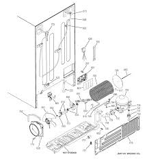 Old fashioned refrigerator ice maker wiring diagram pattern