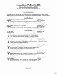 Resume Skills Examples Emt Resume Skills Fresh Paramedic Cover Letter Examples Via Email 72