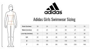 Adidas Girls Pro Light Solid Swimsuit Blue