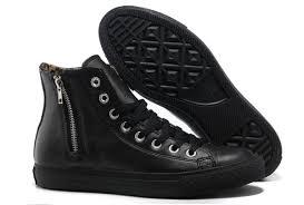 converse zipper. orlg1044 hot converse chuck taylor high léopard inside zipper black leather c