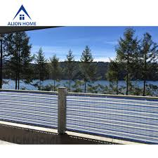 Balcony Fence amazon alion home mediterranean style privacy screen for 5276 by xevi.us