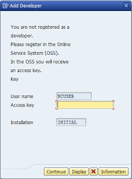Access Key How To Get Access Key In Sap Trial Version