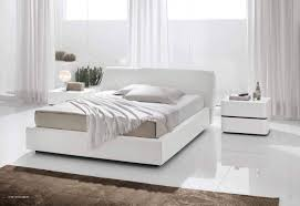 white contemporary bedroom furniture bed — contemporary furniture