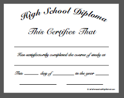 Download Homeschool High School Diploma Templates