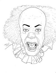Free Full Size Coloring Pages Horror Movie Coloring Pages Printable