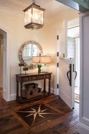 5. Oversized Entry Light Welcomes with Warmth