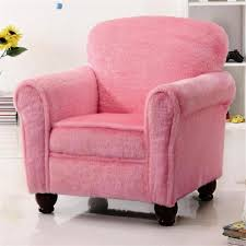 picture of how to cheer the interior with pink accent chair