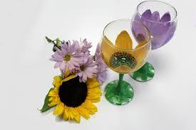 painting wine glasses