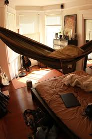 Hammock over bed