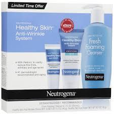 Neutrogena, healthy skin, anti