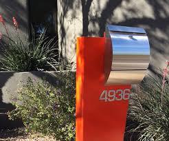 modern curbside mailbox. Hansen In Modern Curbside Mailbox