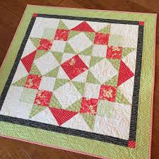 35 best My Christmas Quilts images on Pinterest | Christmas ideas ... & Carried Away Quilting makes a red and green Moda Love Quilt for Christmas. Adamdwight.com