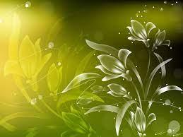Free Light green Vector flowers ...