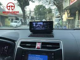 Lắp camera hành trình Webvision N93X cho xe Toyota Rusb