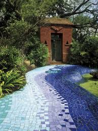 DIY Garden Path Mosaic Projects  YouTubeMosaic Garden Path