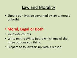 concepts of law essays law and morality past paper questions  4 law