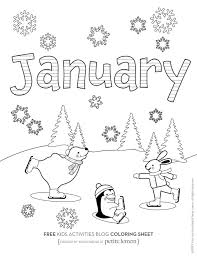 Ask kids fill some colors to make the picture more lively. Happy 2021 Check Out These January Coloring Pages Kids Activities Blog