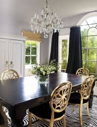 uber love the gold dining chairs via brooksie berry