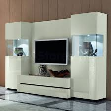 Modern Storage Cabinets For Living Room Interior Wall Unit Furniture Living Room White Painted Storage