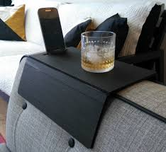 Couch Tray Table Sofas Center Simply Awesome Couch Sofa Arm Rest Wrap Tray Table