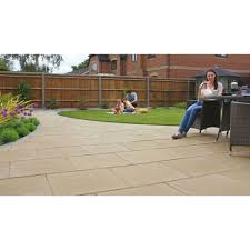 patio slabs. Search Image For Marshalls Perfecta Natural Paving Slabs 1 Pack Patio
