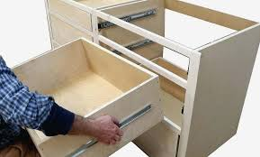 how to install sliding drawers in kitchen cabinets inspirational drawer slides installation build kitchen cabinets install drawer photograph