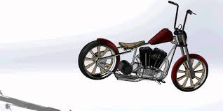 build your own bobber kit solidworks design on the cheap
