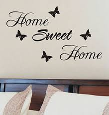 wall art home sweet home