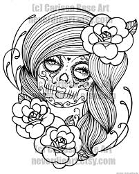 Small Picture sugar skull coloring book Google Search Coloring book Magic