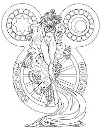 Art Nouveau Oracle By Supernaiasan Deviantart