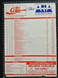 Details About Coca Cola Top 40 Pop Music Chart 7th Jan 1990 Singles Album Record Shop The B52s