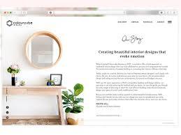 colour cube about page design web design ui design about page interior design