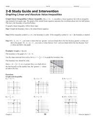 glencoe algebra 2 1 4 solving absolute value equations answers