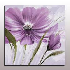 beautiful 2016 abstract flower painting decorative flower oil painting on canvas for living room decoration