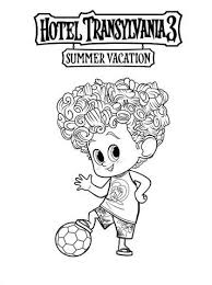 Kids N Funcom 13 Coloring Pages Of Hotel Transylvania 3 Summer