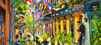 artist painting the new orleans life dianne parks is a new orleans artist who paints the new orleans life with its colorful streets serene bayous and